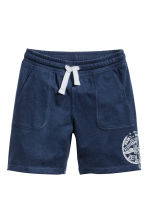 Jersey shorts - Dark blue -  | H&M 2