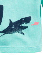 Jersey shorts - Mint green/Sharks - Kids | H&M CA 3