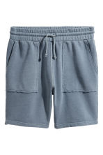 Shorts in felpa - Blu tortora - UOMO | H&M IT 2