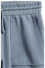 Shorts in felpa - Blu tortora - UOMO | H&M IT 4