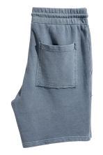 Sweatshirt shorts - Pigeon blue - Men | H&M 3