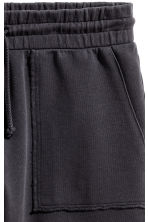Sweatshirt shorts - Black - Men | H&M 3