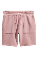 Sweatshirt shorts - Dusky pink - Men | H&M 2