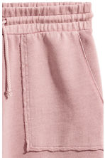 Sweatshirt shorts - Dusky pink - Men | H&M 3