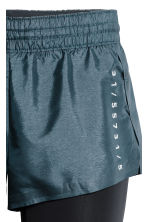 Running shorts - Dark turquoise - Ladies | H&M CN 3
