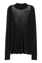 Top in maglia a coste - Nero - DONNA | H&M IT 2