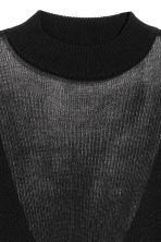 Ribbed jumper - Black - Ladies | H&M CN 3