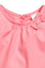 Cotton blouse - Coral pink - Kids | H&M CA 3