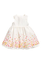 Dress and hairband - White/Floral - Kids | H&M CN 2