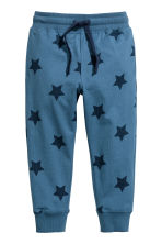 Joggers - Blue/Star -  | H&M 2