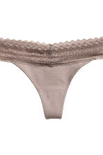 3-pack thong briefs - Apricot - Ladies | H&M 5