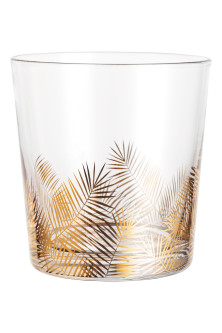 Leaf-patterned tumbler