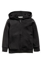 Hooded jacket - Black - Kids | H&M CA 2