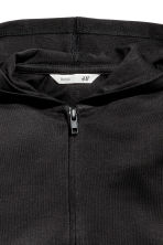 Hooded jacket - Black - Kids | H&M CA 3