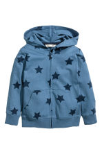 連帽外套 - Blue/Star - Kids | H&M 2