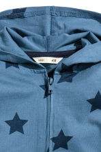 連帽外套 - Blue/Star - Kids | H&M 3