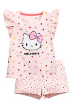 Jersey pyjamas - Light pink/Hello Kitty - Kids | H&M 1