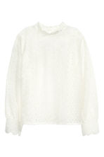 H&M+ Lace blouse - White - Ladies | H&M 2