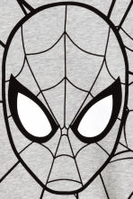 Printed T-shirt - Grey/Spiderman -  | H&M CN 3