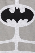 Printed T-shirt - Light grey/Batman -  | H&M CN 3