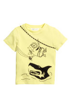 Printed T-shirt - Yellow/Minions -  | H&M CN 2