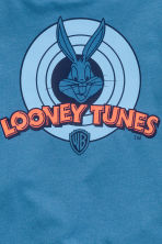 Printed T-shirt - Blue/Looney Tunes - Kids | H&M 3