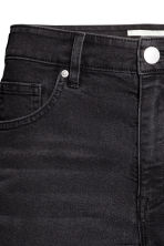 Long denim shorts - Nearly black - Ladies | H&M CN 4