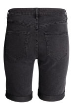 Long denim shorts - Nearly black - Ladies | H&M CN 3