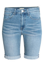 Long denim shorts - Denim blue - Ladies | H&M 2
