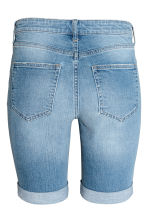 Long denim shorts - Denim blue - Ladies | H&M 3