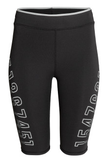 Compression fit running tights
