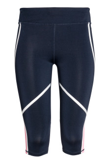 Leggings sportivi a tre quarti