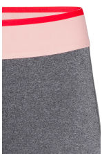 Sports tights - Dark grey marl -  | H&M 4