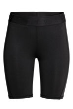 Knee-length sports tights - Black - Ladies | H&M CN 2