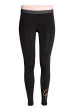 Sports tights - Black - Ladies | H&M 2