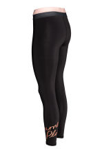 Sports tights - Black - Ladies | H&M 3
