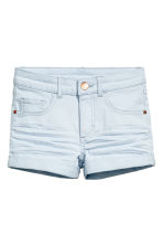 Twill shorts - Light blue -  | H&M 2