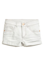Twill shorts - Light grey - Kids | H&M CN 2