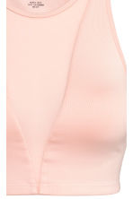 Top de yoga court - Rose poudré -  | H&M FR 4