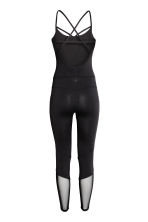 Yoga jumpsuit - Black - Ladies | H&M CN 3