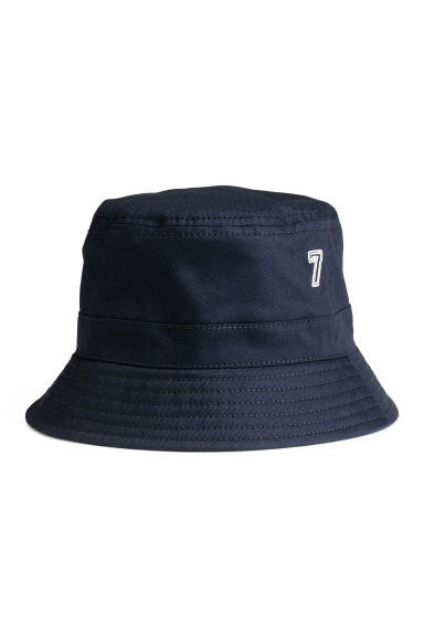 Cotton fisherman's hat - Dark blue - Kids | H&M 1