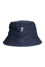 Cotton fisherman's hat - Dark blue - Kids | H&M CN 2
