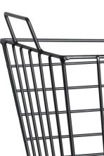 Large metal wire basket - Black - Home All | H&M CN 2