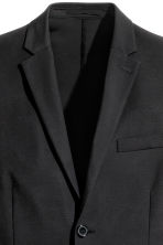 Viscose-blend twill jacket - Black - Men | H&M 3