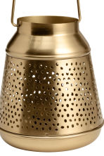 Metal candle lantern - Gold - Home All | H&M CN 3