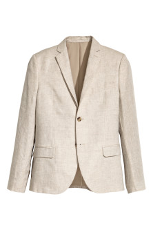 Blazer en lin Slim fit