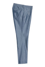 Chambray trousers Slim fit - Blue - Men | H&M CN 3