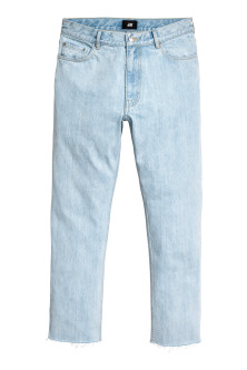 Slim Regular Cropped Jeans