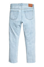 Slim Regular Cropped Jeans - Azul denim claro - HOMBRE | H&M ES 3