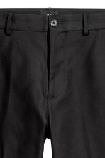 Cotton twill trousers - Black - Men | H&M 4